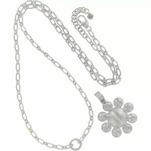 Brighton Versailles Montagne Silver Long Necklace
